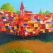 Le village - 30 x 30 (2015)
