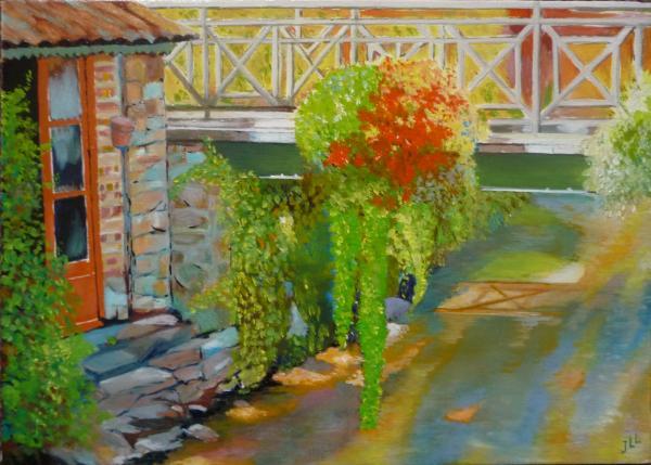 Pont-Aven - Huile 46 x 33