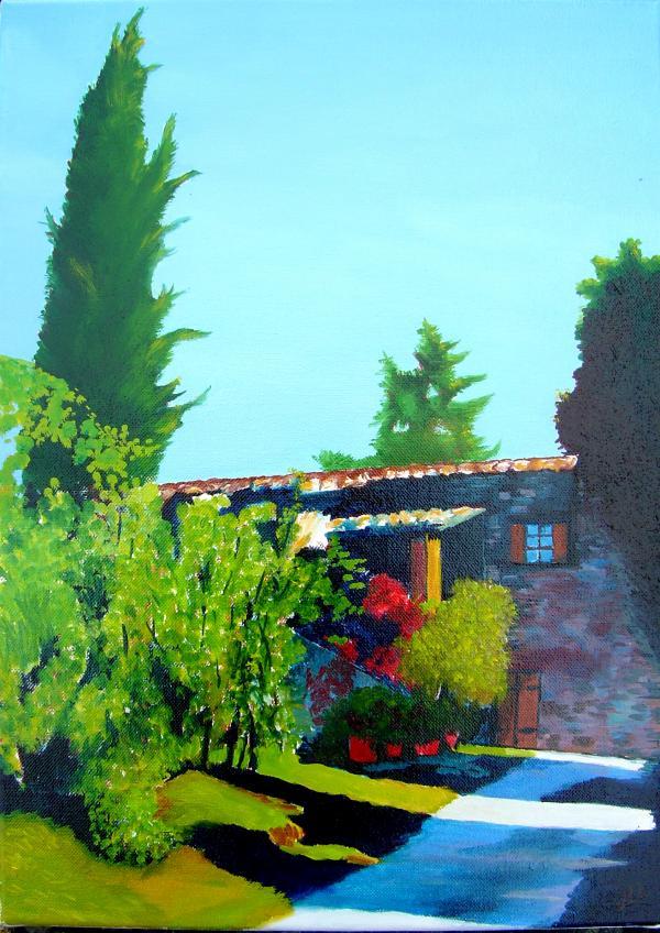 Toscane 1 - huile 46 x 33