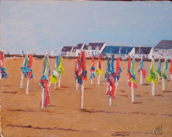 Deauville - huile 46 x 38